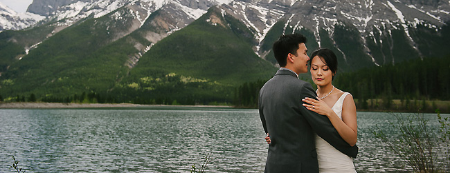 Canmore Wedding: Carole & Darren